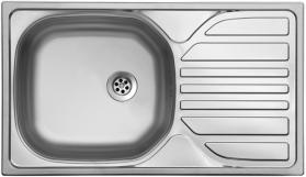 Nerezový dřez Sinks COMPACT 760 M 0,5mm matný STSCMM7604355M