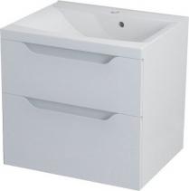 Sapho WAVE umyvadlová skříňka 60x65x47, 8cm, bílá WA064
