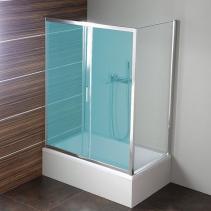 Polysan DEEP boční stěna 750x1500 mm, čiré sklo MD3115