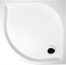 Gelco BETA90 sprchová vanička z lit. mramoru, hluboká, čtvrtkruh 90x90x25cm, R550 GB559H