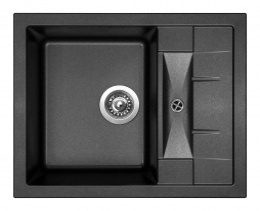 Granitový dřez Sinks CRYSTAL 615 Metalblack ACRCR61550074