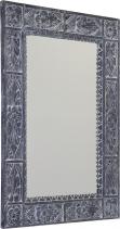Sapho UBUD zrcadlo v rámu, 70x100cm, šedá IN231