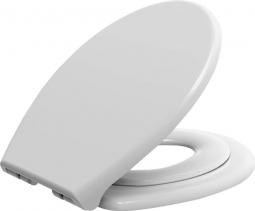 Aqualine WC sedátko s integrovaným dětským sedátkem, Soft Close, bílá FS125