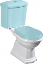 Kerasan RETRO WC kombi mísa 38, 5x41x72cm, spodní odpad 101201