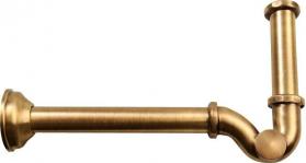 Sapho Bidetový sifon 1'1/4, odpad 32mm, bronz 9606