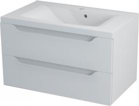 Sapho WAVE umyvadlová skříňka 79, 7x45x47, 8cm, bílá WA081