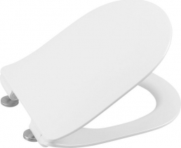 Sapho EDITA WC sedátko SLIM Soft Close, duroplast, bílá 1703-458