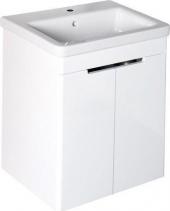 Sapho ELLA umyvadlová skříňka 56, 5x65x43cm, 2xdvířka, bílá (70065) EL065-3030
