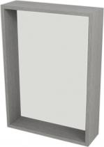 Sapho RIWA policové zrcadlo 50x70x15 cm, dub stříbrný RW511