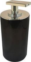Aqualine PARIS dávkovač mýdla na postavení, černá 22250510