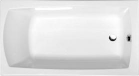 Polysan LILY obdélníková vana 130x70x39cm, bílá 77511