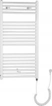 Aqualine Otopné těleso pro elektrické vytápění, rovné, 970/450, bílá (včetně topné tyče) ILE94