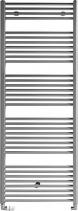 Aqualine DIRECT otopné těleso s bočním připojením 600x1690 mm, 889 W, metalická stříbrná ILS66