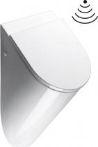 GSI PURA urinál se zakrytým přívodem vody, 31x61x30 cm, otvory pro víko, bílá ExtraGlaze 769811