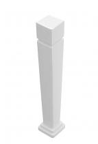 GSI CLASSIC noha k umyvadlu 125 cm, výška 73 cm, bílá ExtraGlaze 877211