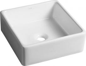 Sapho UBEGA keramické umyvadlo 38x13, 5x38 cm, na desku BH7006
