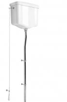 Kerasan WALDORF-RETRO splachovací mechanismus s řetízkem, chrom 754590