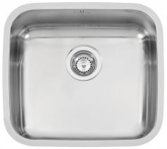 Nerezový dřez Sinks LAGUNA 490 V 0,8mm spodní leštěný RDLAL490440U8V