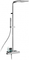 Alpi NABOO sprchový sloup s termostatickou baterií, mýdlenka, chrom NA79SM2151