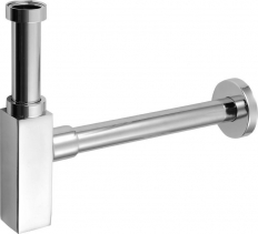 Sapho QUASAR umyvadlový sifon 1'1/4 odpad 32mm, chrom 810.135.5.K