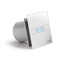 Cata E-100 GTH koupelnový ventilátor axiální s automatem, 4W/8W, potrubí 100mm, bílá 00900200