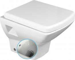 Aqualine SOLUZIONE WC závěsné 35x50, 5cm s bidetovou sprškou, bílá 10SZ02002 DL