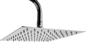 Alpi METAL SLIM hlavová sprcha, 250x250mm, leštěná nerez SF074A