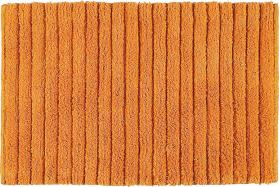 Aqualine BOMBAY koupelnová předložka, 50x80 cm, 100% bavlna, protiskluz, oranžová BO508067