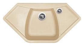 Granitový dřez Sinks NAIKY 980 Sahara TLNA98051050