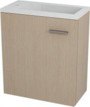 Sapho LATUS III umyvadlová skříňka 45x50x23, 2cm, Dub benátský 55549