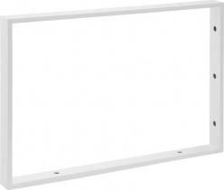 Sapho Podpěrná konzole 490x330x40mm, lakovaná ocel, bílá mat, 1 ks 30371
