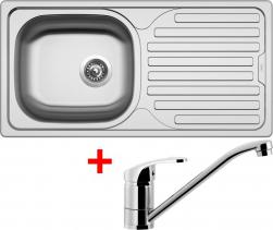 Nerezový dřez Sinks CLASSIC 860 6V+PRONTO CL8606VPRCL