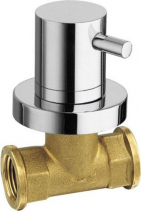 Reitano Rubinetteria AIRTECH podomítkový ventil, teplá, chrom 405H
