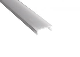 Sapho Led Mléčný kryt LED profilu, 1m KL17071-1