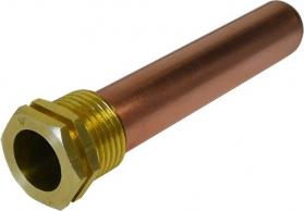 Klum Jímka pro tři čidla, hladká, 107 mm TA437