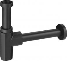 Sapho SPY umyvadlový sifon 1'1/4, odpad 32 mm, černá mat PY36/15