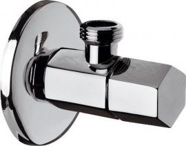 Sapho SPY rohový ventil s rozetou, 1/2'x 3/8' , chrom PY58