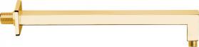 Sapho Sprchové ramínko hranaté, 400mm, zlato BR317