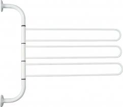 Aqualine Otočný trojsušák, bílá 8002
