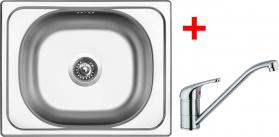 Nerezový dřez Sinks CLASSIC 500 6V+VENTO 4 CL5006VVE4CL
