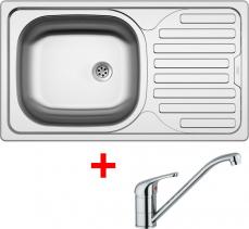 Nerezový dřez Sinks CLASSIC 760 6M+VENTO 4 CL7606MVE4CL