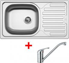 Nerezový dřez Sinks CLASSIC 760 6V+VENTO 4 CL7606VVE4CL