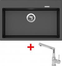 Granitový dřez Sinks MAXIMO 780 Metalb.+MIX 350P ACRMA78074M350P