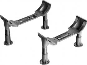 Aqualine Podpěrné nohy k vanám 120-170cm PIED PVC