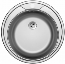 Nerezový dřez Sinks ROUND 510 M 0,6mm matný STSROM5106M