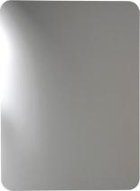 Sapho ISHAPE zrcadlo 500x900mm, zakulacené rohy, bez úchytu AG495