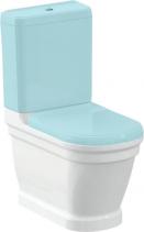 Sapho ANTIK WC mísa kombi, zadní/spodní odpad, 37x63 cm AN360