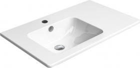 GSI PURA umyvadlo s odkládací plochou vpravo, 80x50 cm, bílá ExtraGlaze 8856111
