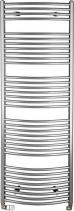 Aqualine Otopné tělesooblé 1690/600, 909 W, metalická stříbrná ILA66