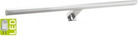 Sapho FELINA LED svítidlo, 12W, 608x15x112mm, chrom FE060